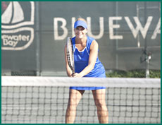 Janice is also an avid tennis player who plays in several leagues throughout the week.